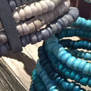 Beach Shak bracelet - Available in black, aqua and lavender